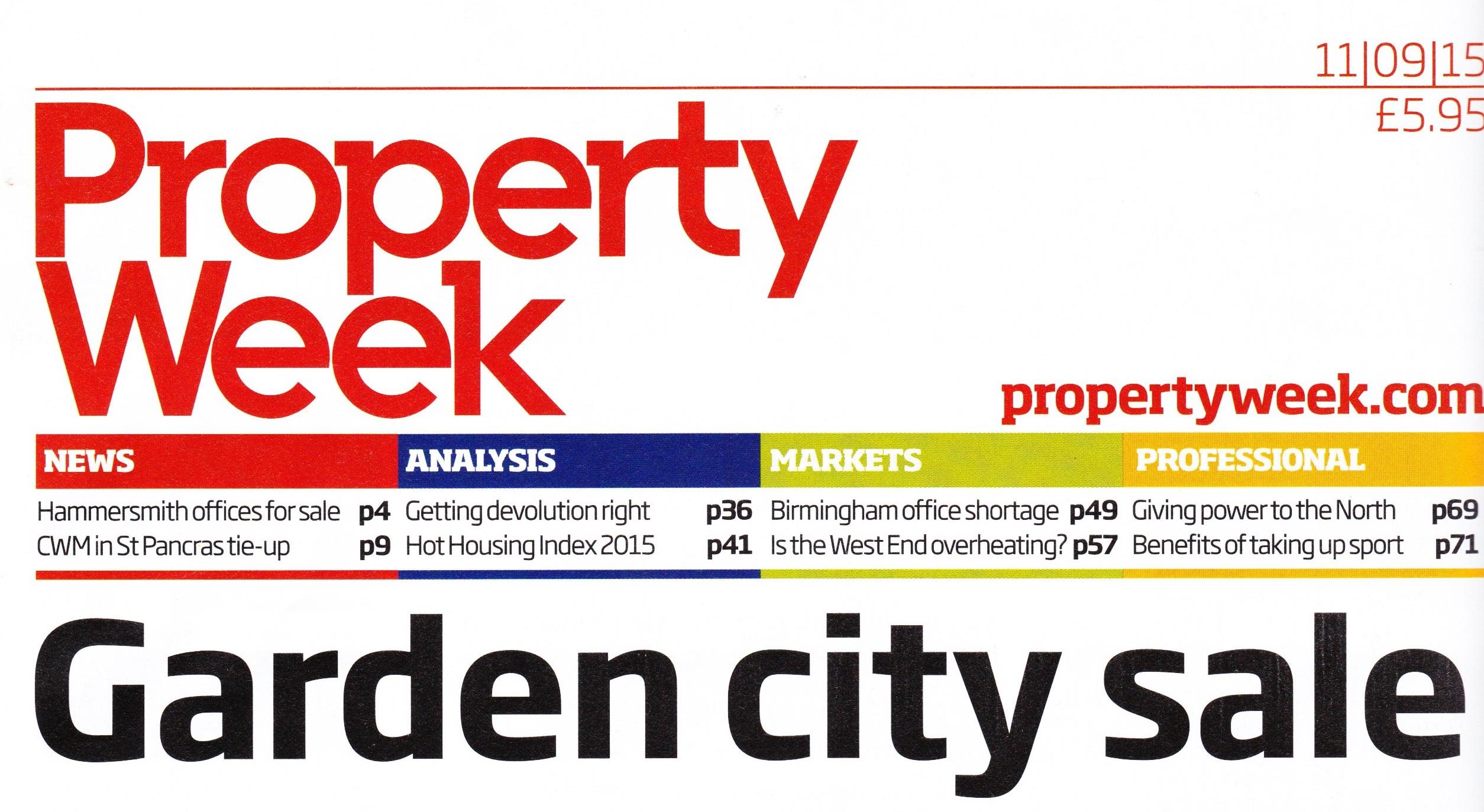 Property Week Garden City Sale
